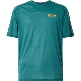 Oakley Cascade Trail SS Tee Men, Azul petróleo